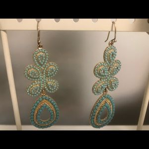 Stella & Dot earrings.